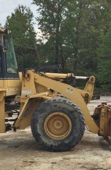 Cat Loader at sawmill