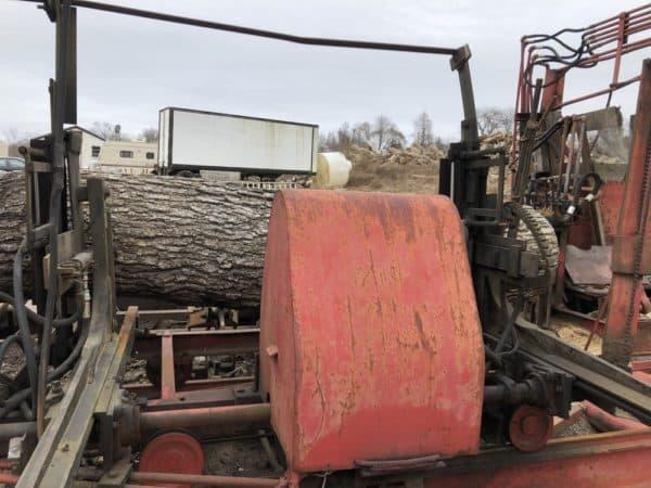 meadows mobile sawmill hydraulic setworks
