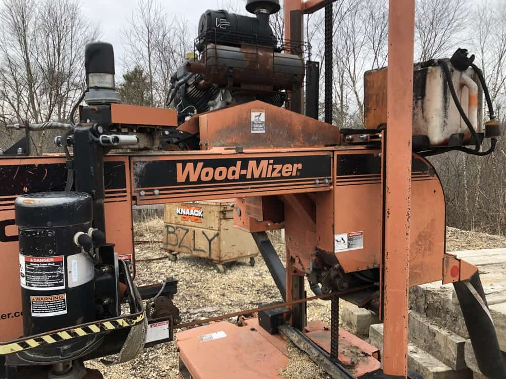 Woodmizer Sawmill For Sale >> Wood Mizer Lt40 Portable Mobile Sawmill Sawmill Equipment