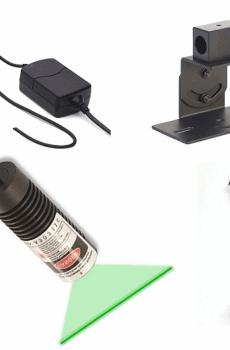 green laser line light generator