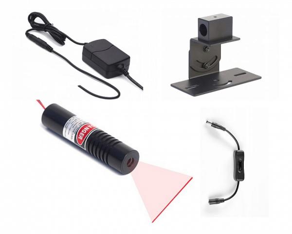 red line laser generator kit